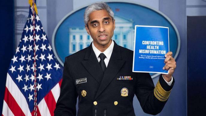 Surgeon General Warns Misinformation An 'Urgent Threat' to Public Health
