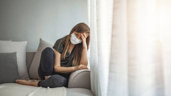 COVID-19 Patients More Likely to Develop Depression, Anxiety, & Dementia