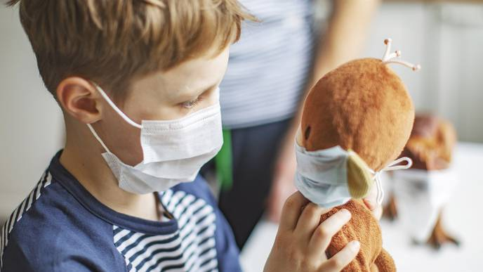 Kids Over 2 Should Wear Masks to Slow COVID-19 Spread